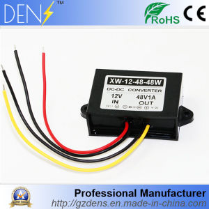 DC DC 12V to 48V 1AMP 48W Step-up Power Converter pictures & photos