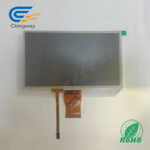 "7"" 50 Pin 320 CD/M2 LCD with Resistive Touchscreen pictures & photos"