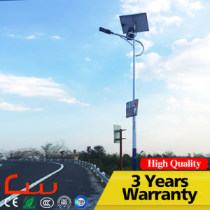 80000hrs 130lm / W 30W 100watt Integrated LED Solar Street Light pictures & photos