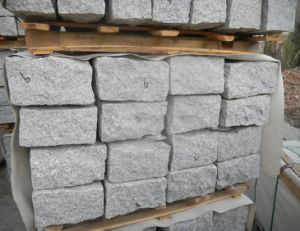 G603 Paving Stone, Cube Stone, G603 Cobblestone, Grey Granite Cube pictures & photos