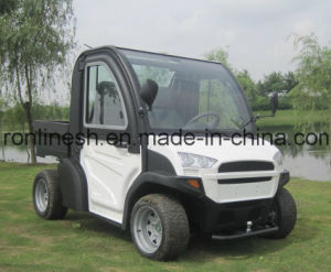 5kw or 5000W Multi-Purpose Electric UTV//Electric Car/E Golf Cart/E Club Car/Lsv/Nev/Micro Car/Green Vehicle with Cargo Box/Dump Bed Ce/ECE pictures & photos