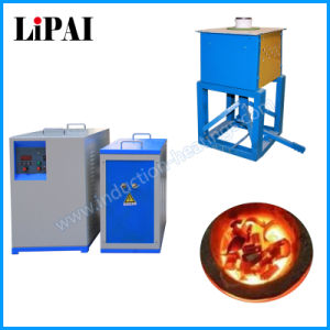 Induction Heating Melting Furnace for Copper Aluminum Gold pictures & photos