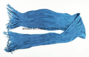 Acrylic Solid Dyed Crepe Shawl (ABF22004018) pictures & photos