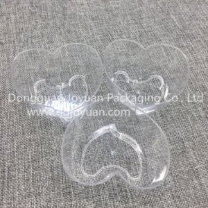 Disposable Plastic Cup Heart-Shape Cup Printed Dessert Cup pictures & photos