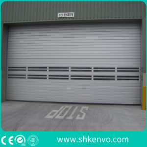 Aluminum Alloy Insulated Metal Fast Action Roller Shutter Doors for Industrial Warehouse pictures & photos