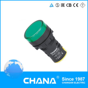 16mm Diameter Protected LED Indicator Lamp with Ce and RoHS Approval pictures & photos