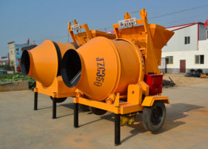 High Quality Portable Jzc350 Concrete Mixer pictures & photos