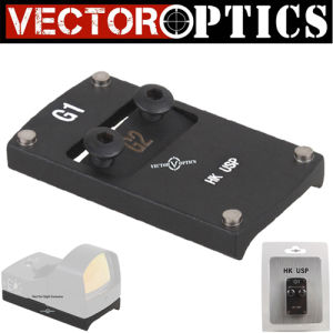 Vector Optics Full Metal Tactical Slide Mini Red DOT Sight Pistol Rear Scope Mount Base Fit H&K HK USP Gun Accessories pictures & photos