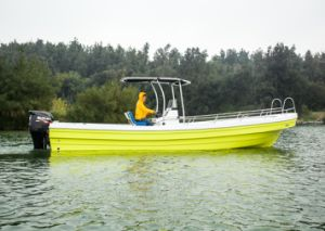 26′ Small Fiberglass Fishing Boat Fishing Yacht Ce Certificate for Sale pictures & photos