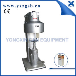 Automatic Tin Can Sealing Machine of Small Rectangular Paint Can pictures & photos