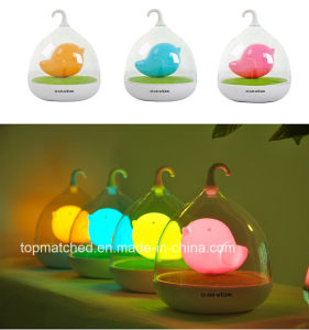 Free Sample 4 Color Birdcage LED Night Lights for Kids pictures & photos