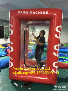 Hot Inflatable Cash Machine/Money Booth for Wedding Event