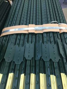 American Green Painted Studded 10 FT Fence T Post pictures & photos