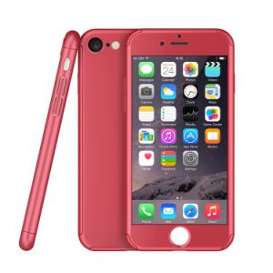 360 Degree Full Protective Fullbody Front & Back PC Gel Case Cover for iPhone 7 pictures & photos