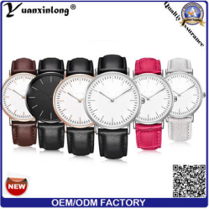 Yxl-005 2016 Hot Sell Daniel Nylon Dw Watch for Quartz Stainless Steel Case Watch pictures & photos