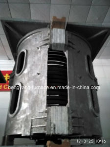 Aluminum Shell Melting Induction Furnace 1000kg pictures & photos