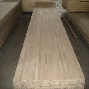 E0 Standard Oak Wood Worktops/Finger Joint Board pictures & photos