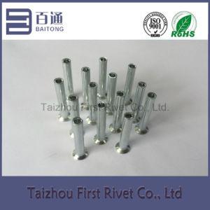 4.3X28mm Flat Countersunk Head Semi Tubular Steel Rivet pictures & photos