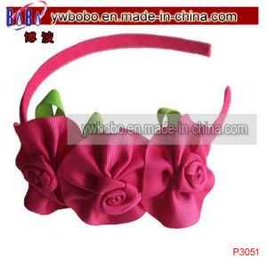 Holiday Gift Ribbon Bow Hairband Kids Hair Products (P3047) pictures & photos