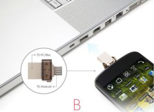 Dt Micro OTG USB Flash Pen Drive for Android Smart Phone pictures & photos