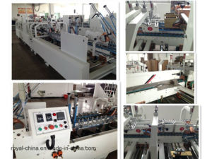 Pre-Folder & Crash Lock Bottom Automatic Folder Gluer with ISO9001 pictures & photos