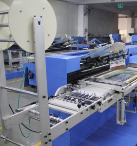 Elastic Tapes Screen Printing Machine with 30cm Printing Width pictures & photos
