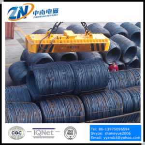 Industrial Electric Crane Magnet for Lifting Wire Rod MW19-63072L/2 pictures & photos