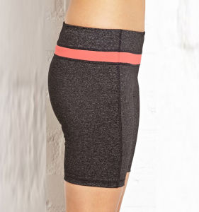 Active Yoga Running Fitness Wear Young Ladies Sexy Middle Rise Compression Shorts Women′s pictures & photos