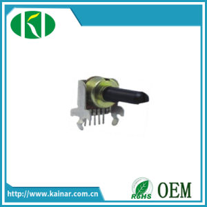 12mm 6 Pins Rotary Potentiometer with Bracket Wh0122-2 pictures & photos