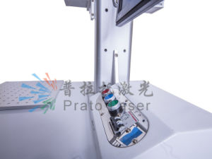 10W/20W Mopa Fiber Laser Marking Machine for Steel Plates Mark for Metal Printing pictures & photos
