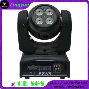 8X10W RGBW Double-Sided LED Wash Moving Head Light pictures & photos