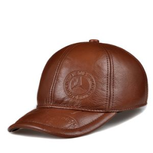 Leather Winter Cap pictures & photos