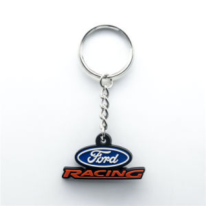 Customized Gift Car Rubber PVC Key Chain pictures & photos