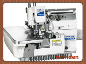 Wd-700-4/02X250 Super High-Speed Four-Thread Double Chain Rolling Overlock Machine pictures & photos