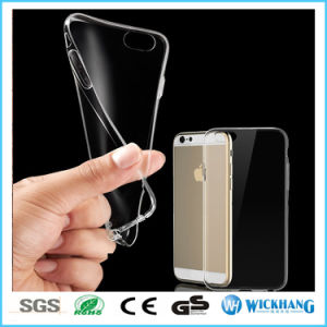 Ultra Thin Transparent Clear TPU Soft Skin Case for Apple iPhone pictures & photos