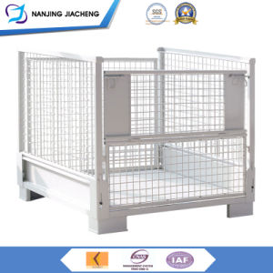 Foldable Stackable Pallet/Custom Steel Storage Box/Wire Mesh Containers pictures & photos
