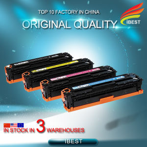 Factory Direct Sell Compatible HP Ce320A Ce321A Ce322A Ce323A 128A Toner Cartridge