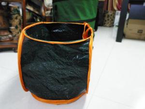 Square Pop up Garden Bag/New Design Foldable Leaf Bag/Popular Garden Tool pictures & photos