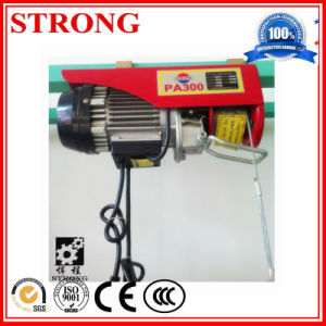 Miniature Electric Hoist Remote Control Small Crane Lifting Machine Household pictures & photos