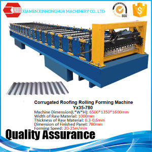 Metal Corrugated Roofing Sheet Forming Machine Roofing Tile Making Machine pictures & photos