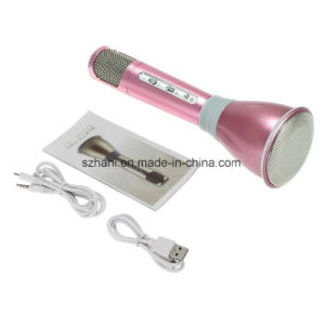Hot Sale K068 Magic Echo Karaoke Wireless Bluetooth Condenser Microphone pictures & photos