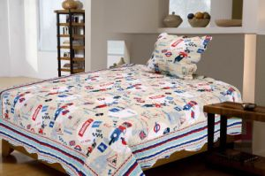 Printed Quilt Pigment Printing Polyester Children