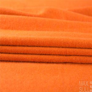Wool/Nylon Fabric Good Elasticity in Deep Orange pictures & photos