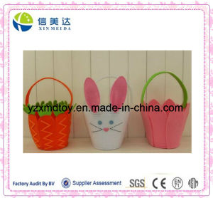 Plush Easter Rabbit & Basket Toy pictures & photos