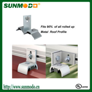 Metal Roofing Bracket for Solar Home System pictures & photos
