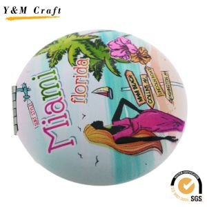 Fashion Decorative Metal Pocket Cosmetic Mirror for Lady pictures & photos