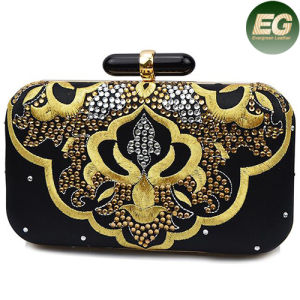 Retro Style Women Party Handbag Embroidery Designs Evening Clutch Bag Eb763 pictures & photos