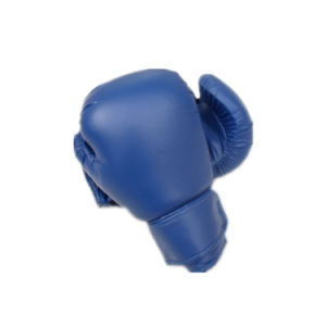 Optional Printed Logo PU and Silica Gel Boxing Gloves Professional Boxing Gloves pictures & photos