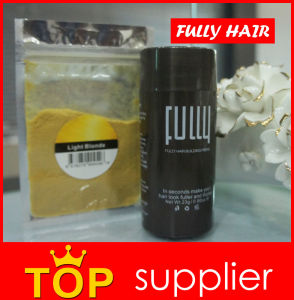 Hot Sell Hair Loss Treatment New Hair Concealer Fully Keratin Hair Building Fibers pictures & photos