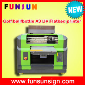 Phone Case Printer_Mobile Phone Cover Printing Machine_A3 Size UV LED Flatbed Printer_3D Printer pictures & photos
